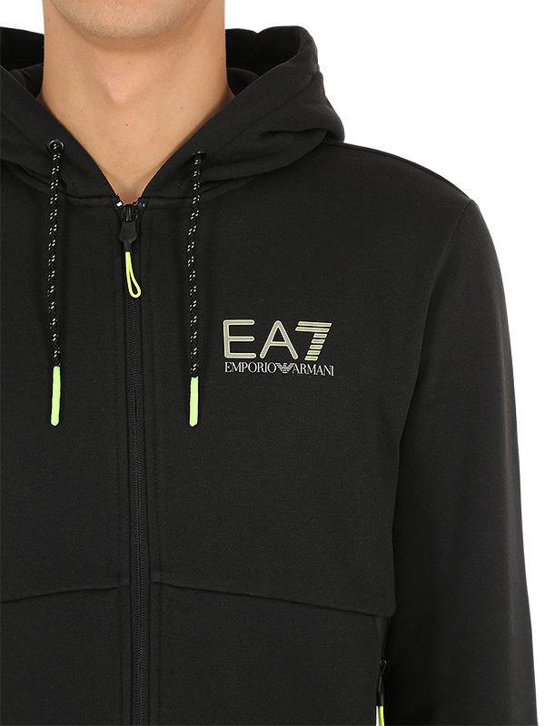 398e2f8786 EA7 Black Natural Ventus Sweatshirt & Sweatpants for men