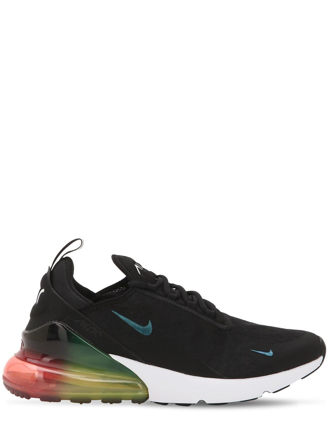 best service 37211 9434f Nike. Men s Black Air Max 270 Sneakers