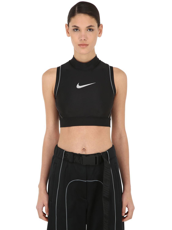 Nike Black Nrg Ca Ambush Crop Top