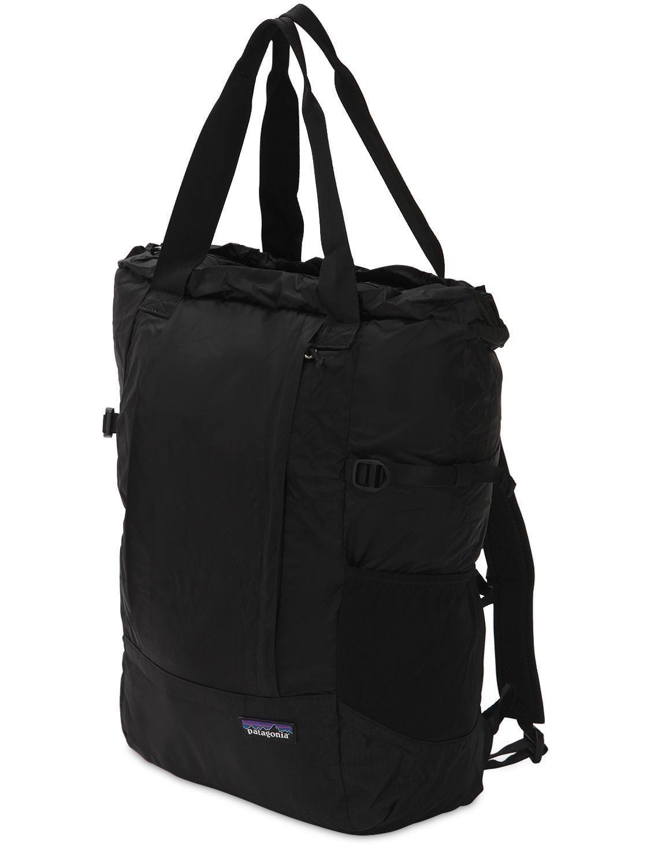 3535c973229b Patagonia - Black 22l Lightweight Travel Backpack for Men - Lyst. View  fullscreen
