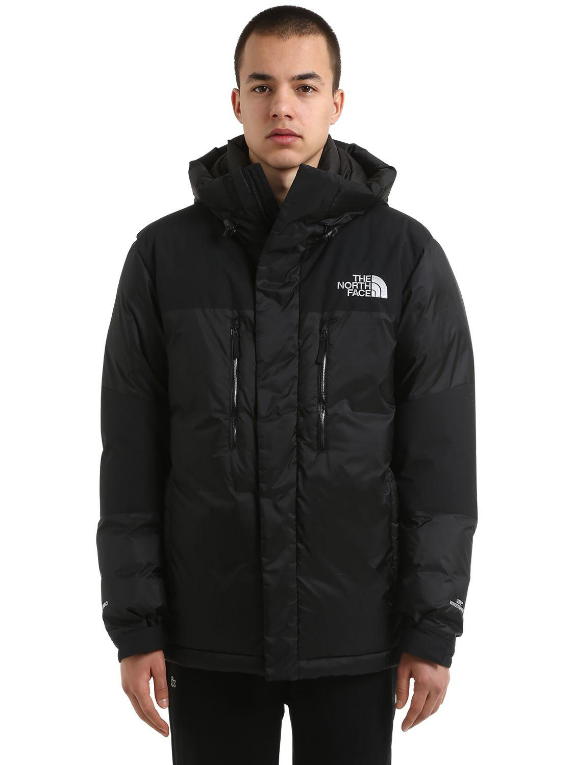 34332722a The North Face Black Himalayan Windstopper Down Jacket for men