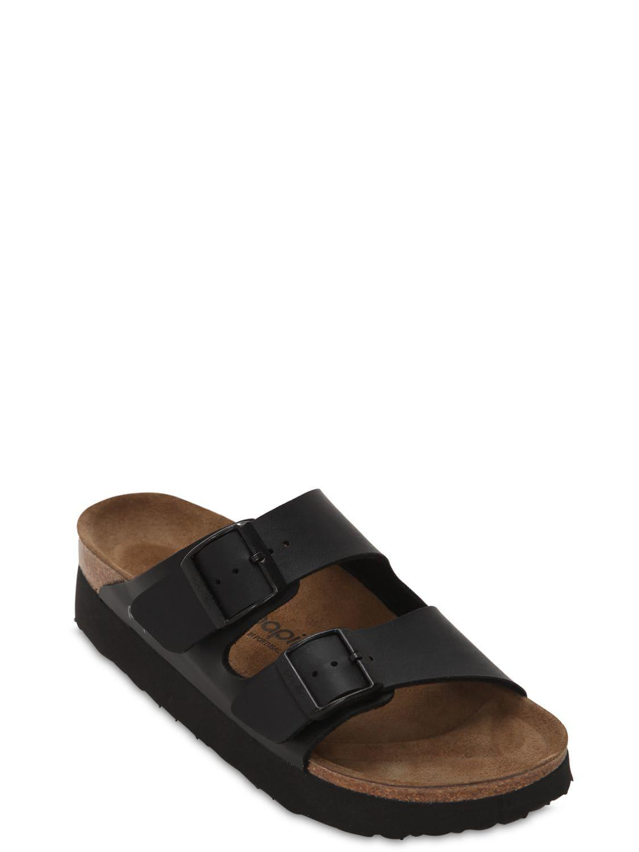 6bcd5507462 Lyst - Birkenstock Papillio Arizona Platform Sandals in Black