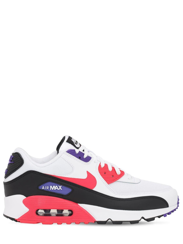 Baskets Air Max 90 Essential Cuir Nike pour homme en coloris Blanc ...