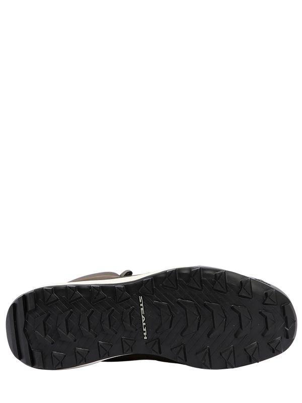 Adidas Originals Suede Terrex Winterpitch Boots In Army
