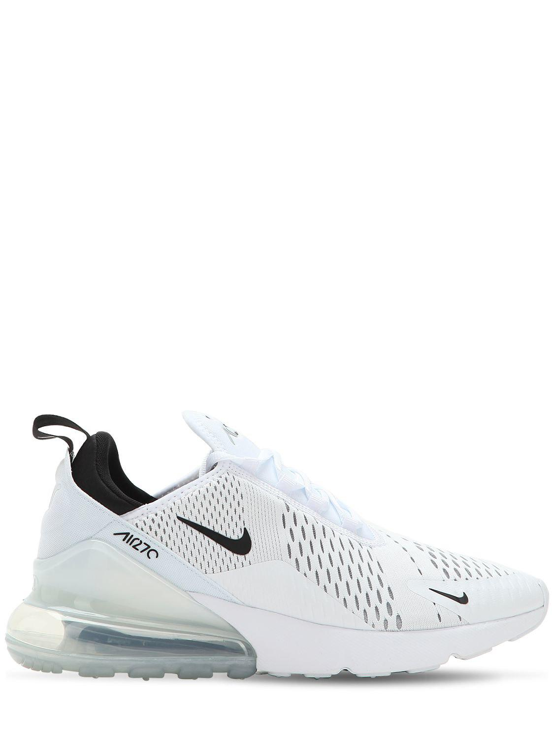 new concept 3f344 3b023 Nike. Men s White Air Max 270 Sneakers