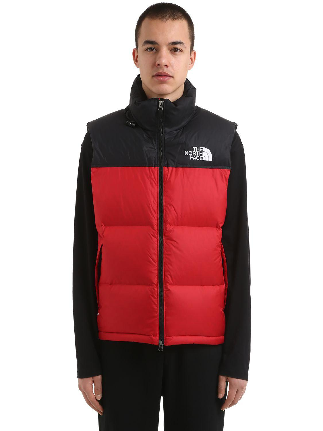 4bcc330dca13 The North Face 1996 Retro Nuptse Down Vest in Red for Men - Lyst