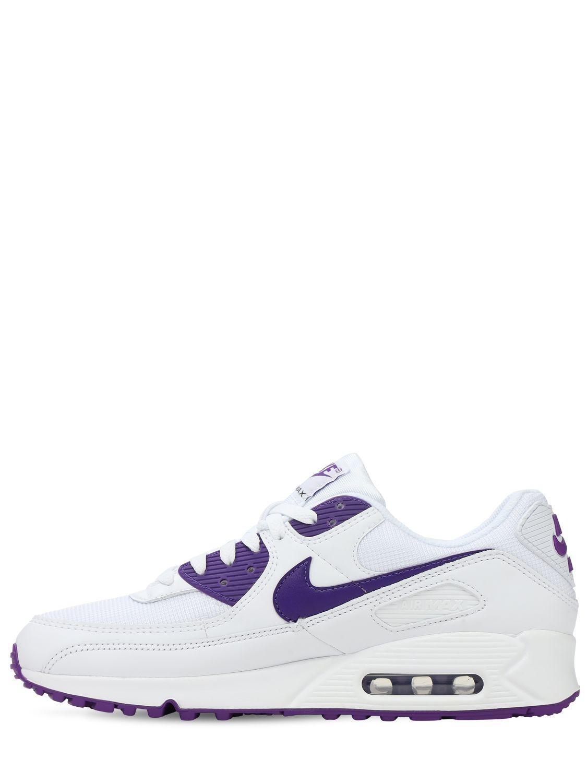 Nike Air Max 90 Sneakers in Purple for Men - Lyst