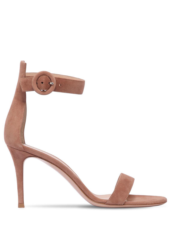 21369d3a0b2 Gianvito Rossi. Women s 85mm Portofino Suede Sandals