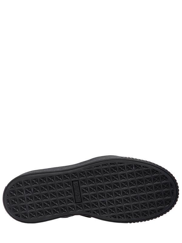 dc2b4aa7174 Lyst - Puma Select Elastic Slingback Platform Sandals in Black