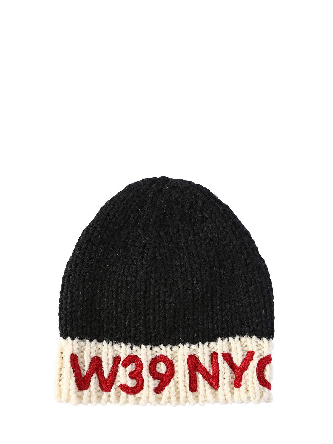 contrast logo beanie hat - Red CALVIN KLEIN 205W39NYC EAXoQK