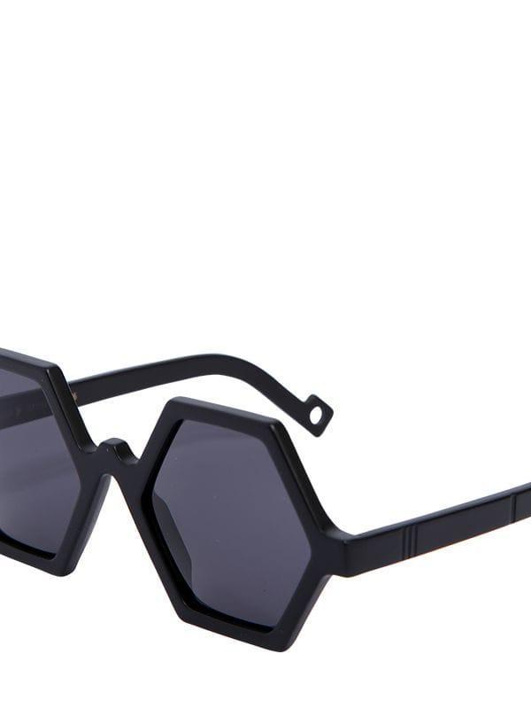 PAWAKA Tujuh 7 Matte Black Acetate Sunglasses
