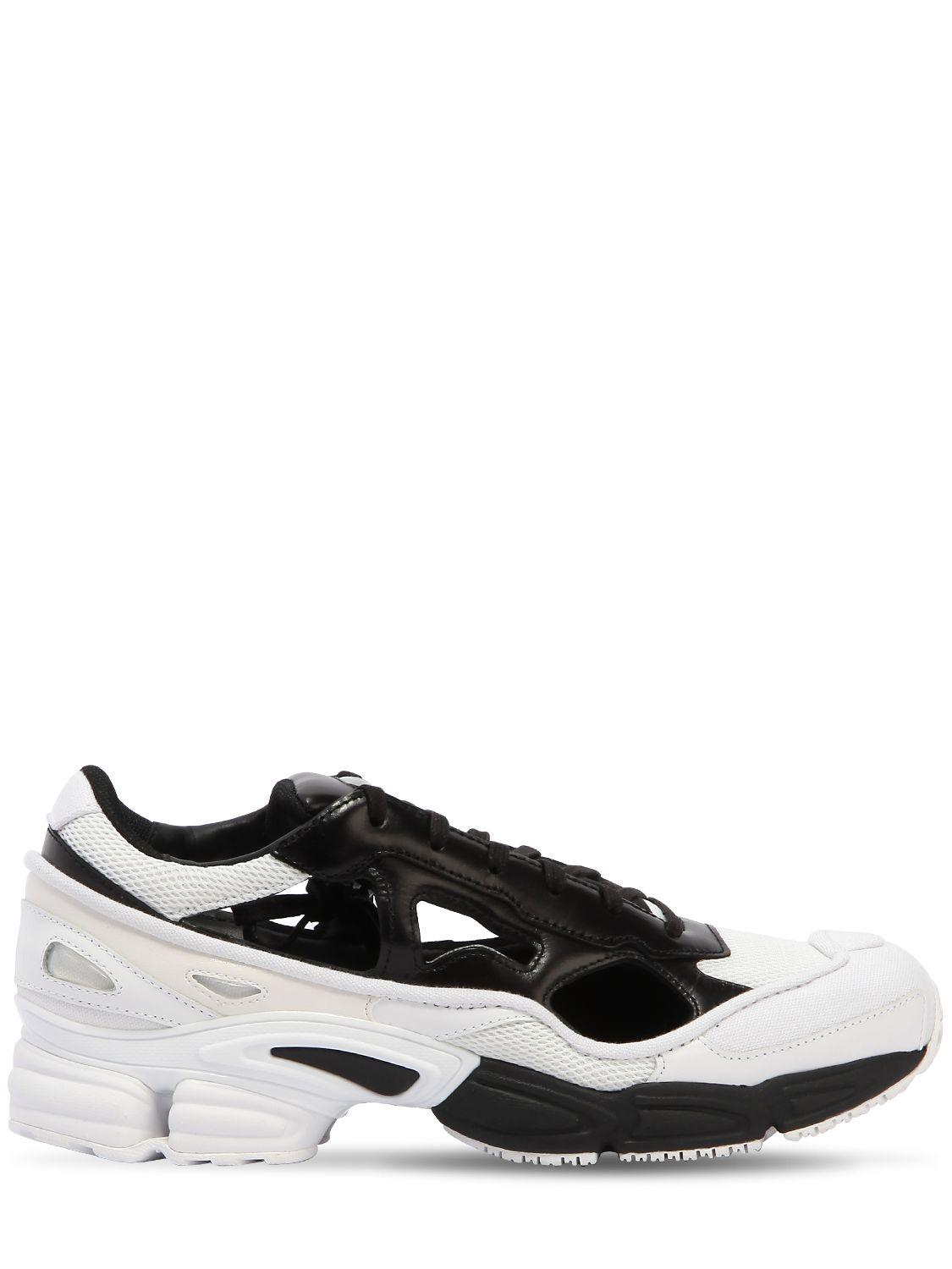 3061089db78ac Adidas By Raf Simons Rs Replicant Ozweego Sneakers in Black for Men ...