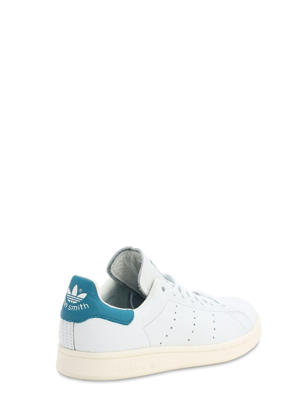 """Sneakers En Cuir """"Stan Smith"""" Cuir adidas Originals en coloris Blanc jX1R"""