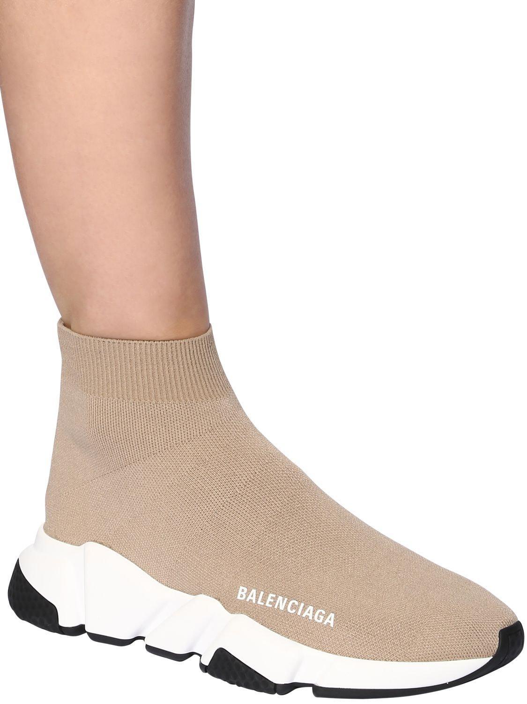 Balenciaga Speed Sneaker in Beige