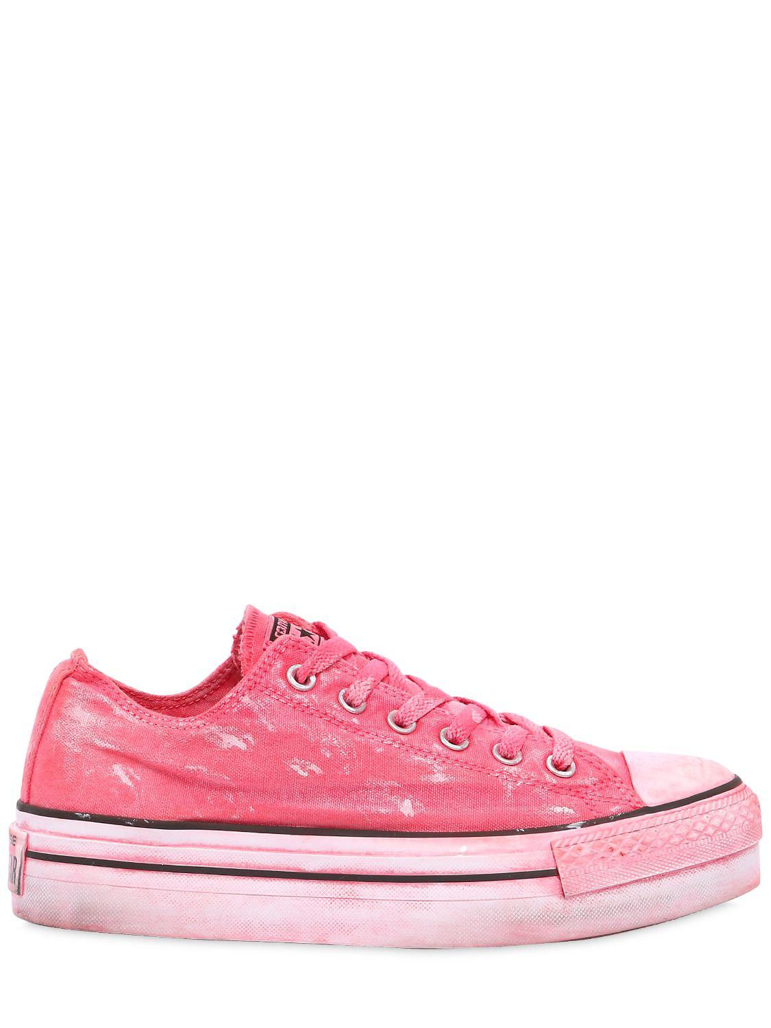 Converse 40mm Chuck Taylor Platform Sneakers in Pink - Lyst 7481d6936