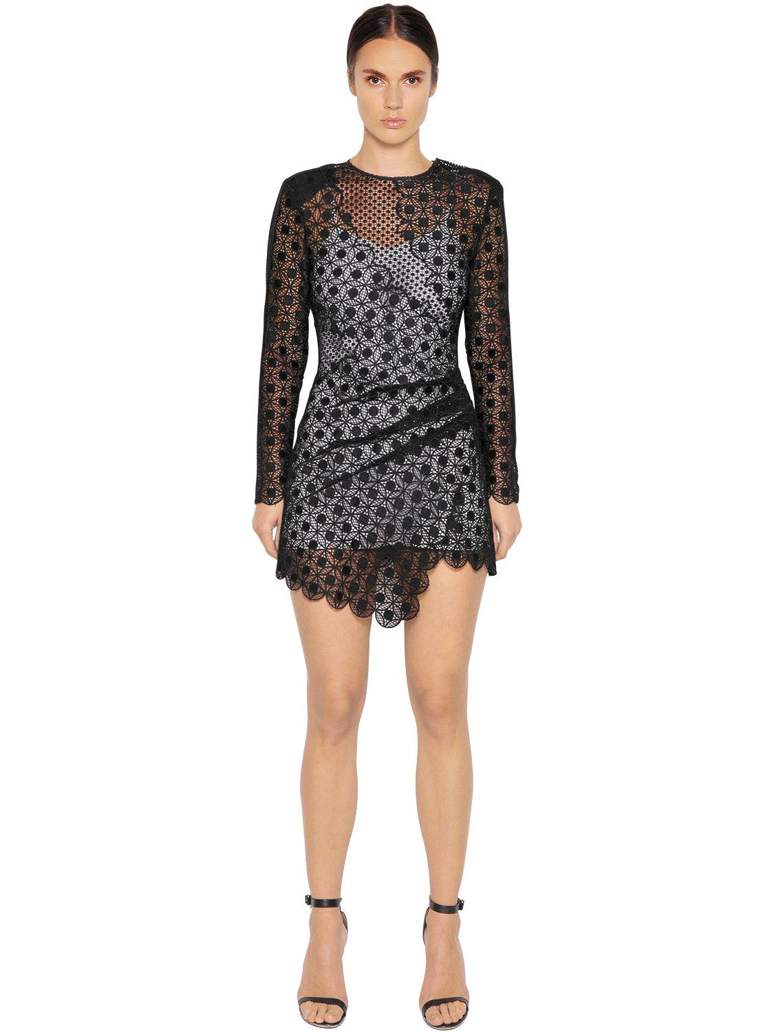 Guipure lace dress cheapest cell