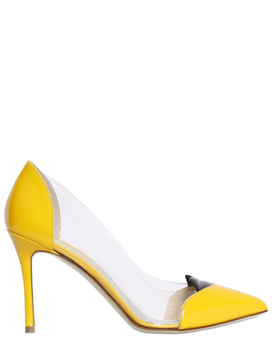 GIANNICO Patent Leather Heels DwLyKVT