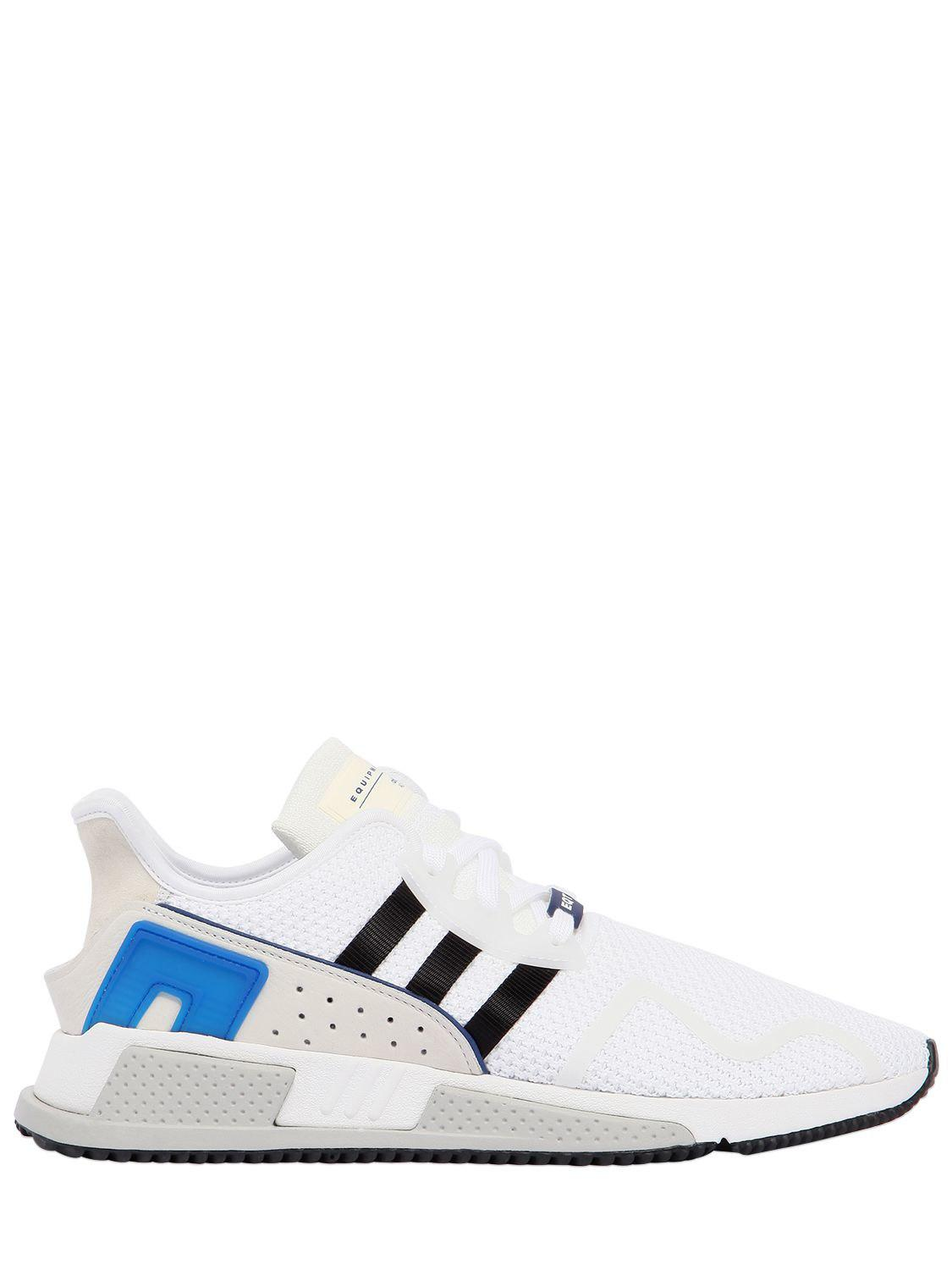 quality design 869c2 fc224 Adidas Originals - White Eqt Cushion Adv Sneakers for Men - Lyst. View  fullscreen