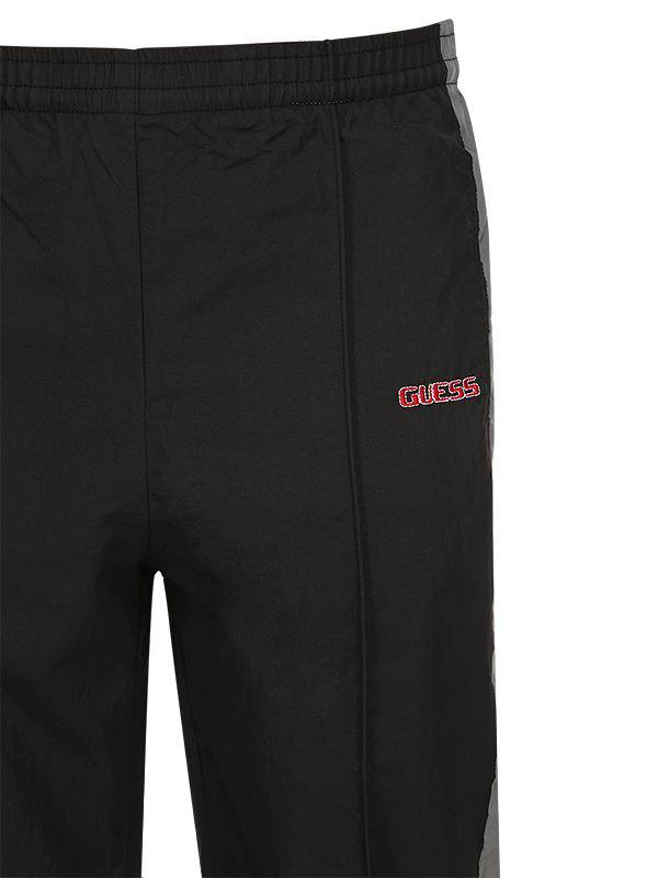 9b5db4d3c1fe05 Lyst - Guess Sean Wotherspoon Side Bands Track Pants in Black for Men