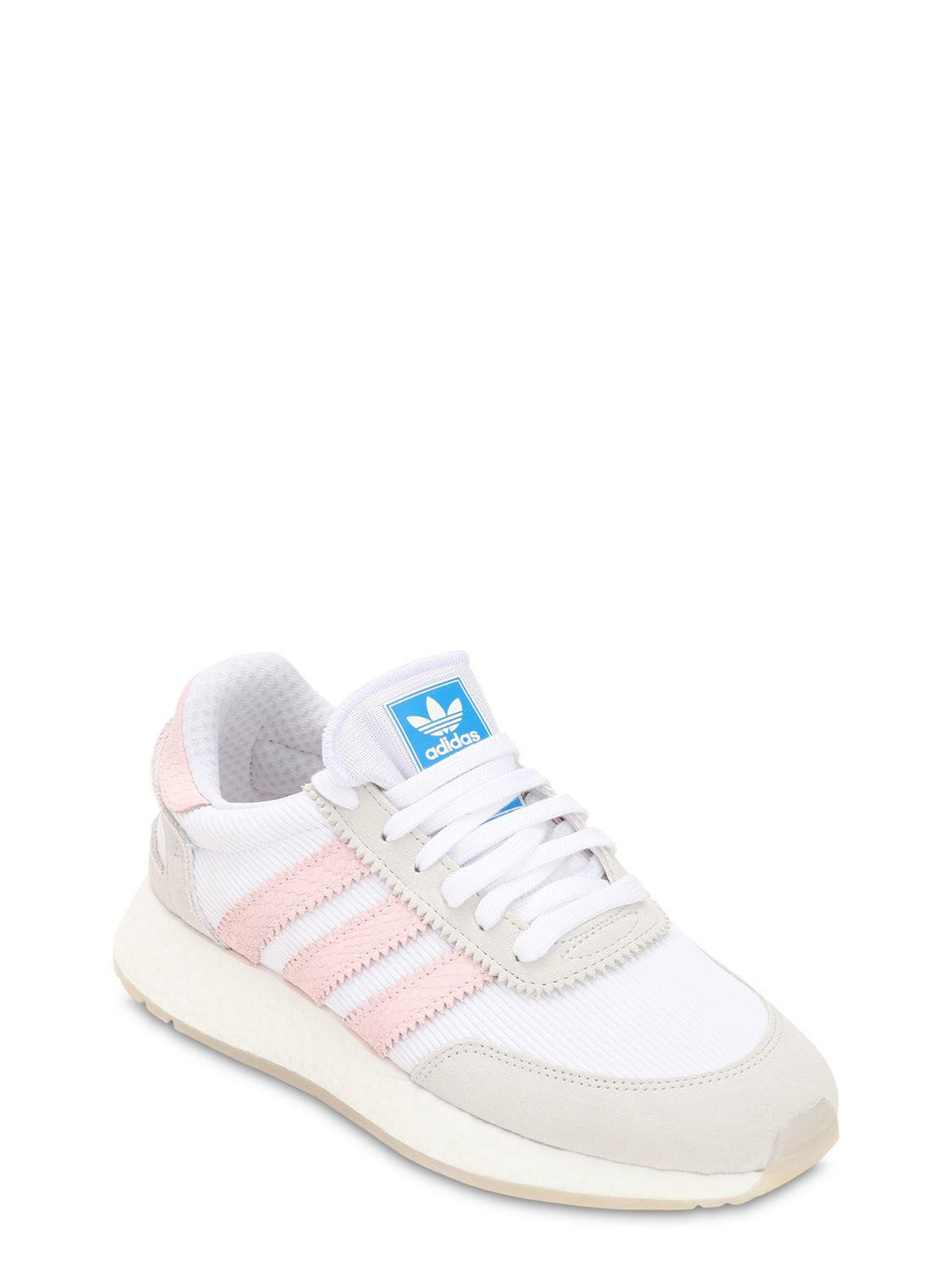 detailed look ce8ab 2593d Adidas Originals - White I-5923 Boost Sneakers - Lyst. View fullscreen