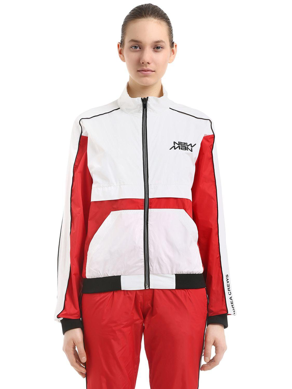 All Size NEW MAN PRINTED NYLON TRACK JACKET Discount 2018 Clearance Store Unisex Buy Cheap Low Cost RaqsrM2L