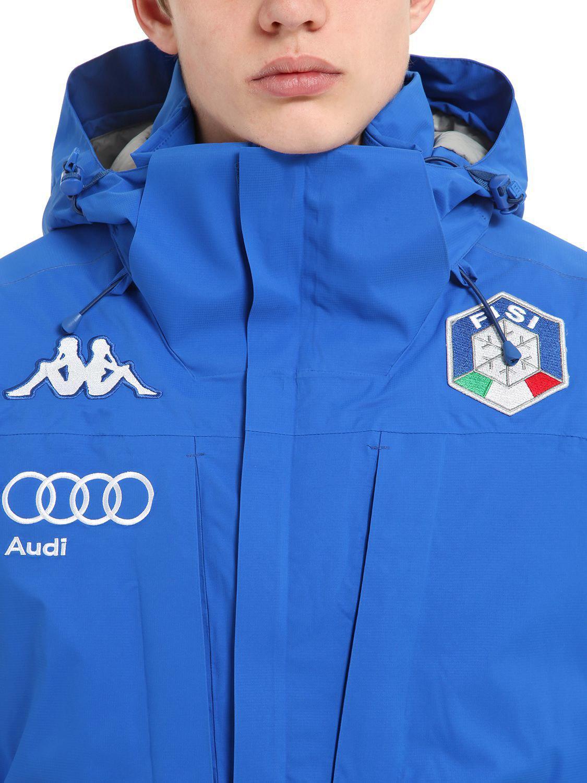 Kappa Italy FISI Men/'s Jacket Size M Dark Blue