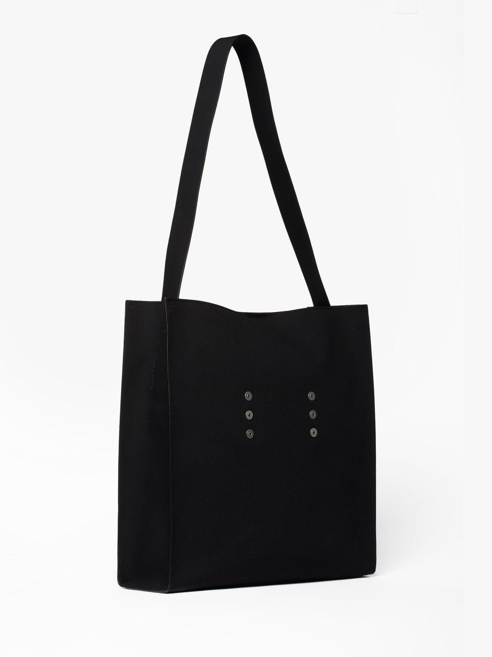 0764157a92 Mackintosh Black Bonded Cotton 0002 Tote Bag in Black for Men - Lyst