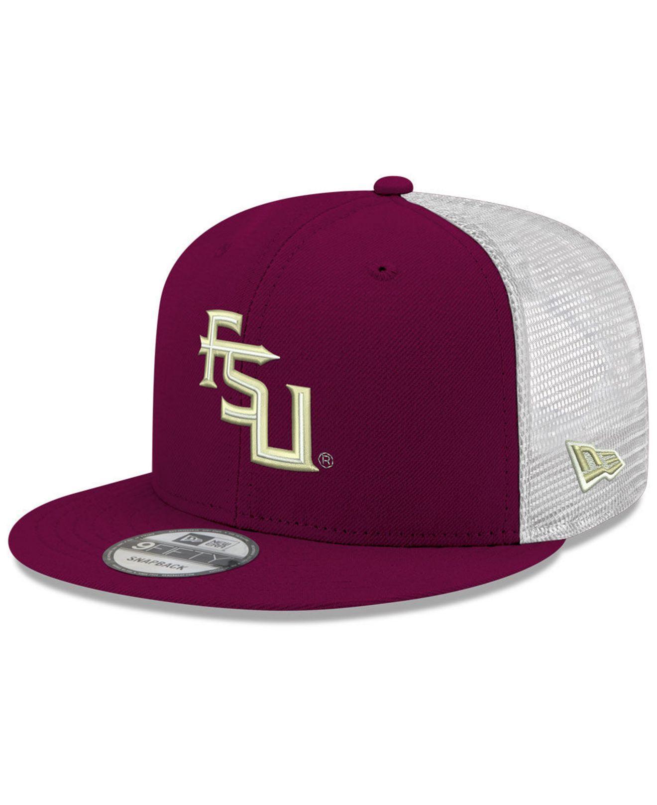 size 40 9c5b4 acb48 KTZ. Men s Purple Florida State Seminoles Tc Meshback Snapback Cap