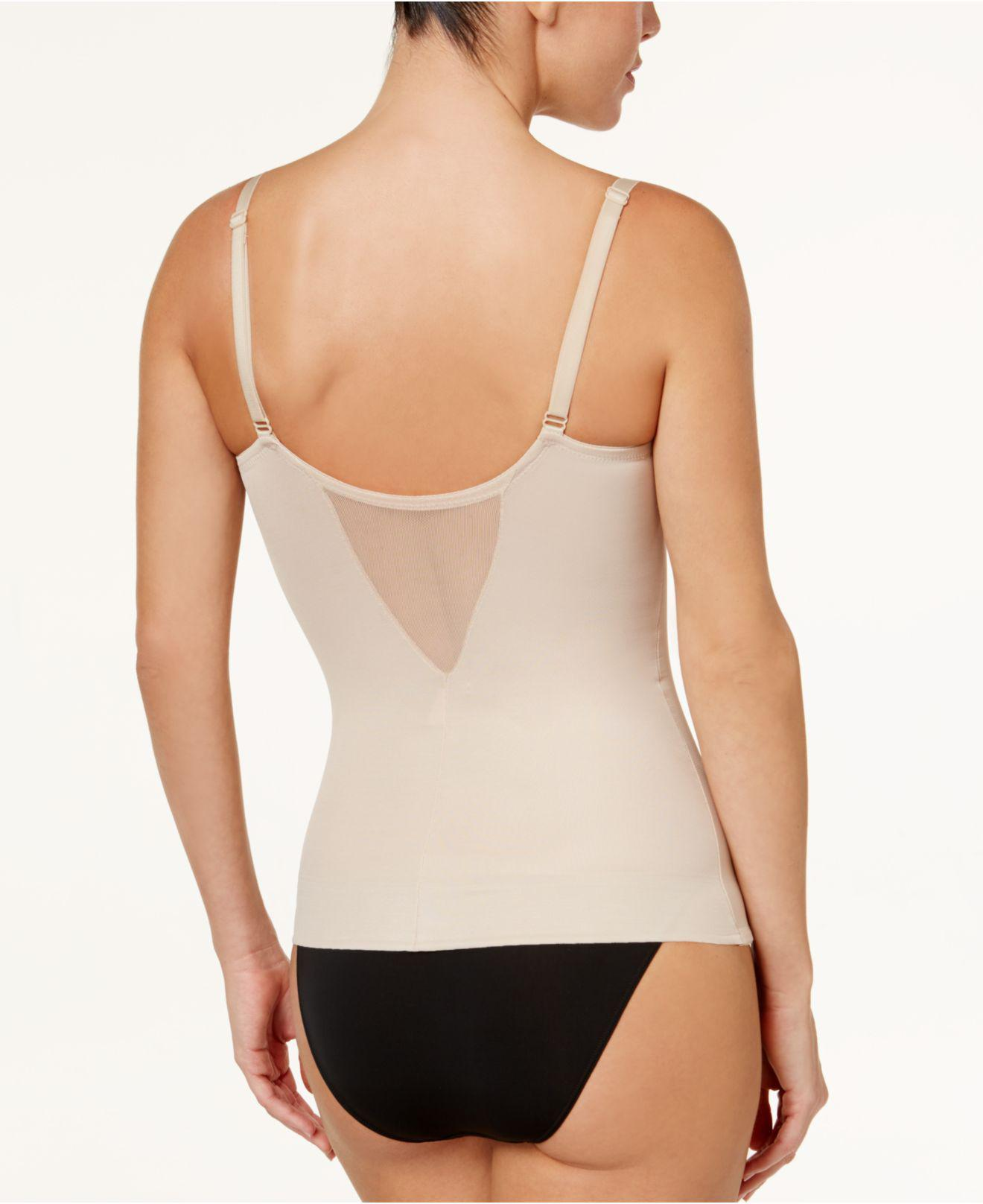 e14dd3a8e3 Lyst - Miraclesuit Extra Firm Control Sheer Underwire Camisole 2782 in  Natural