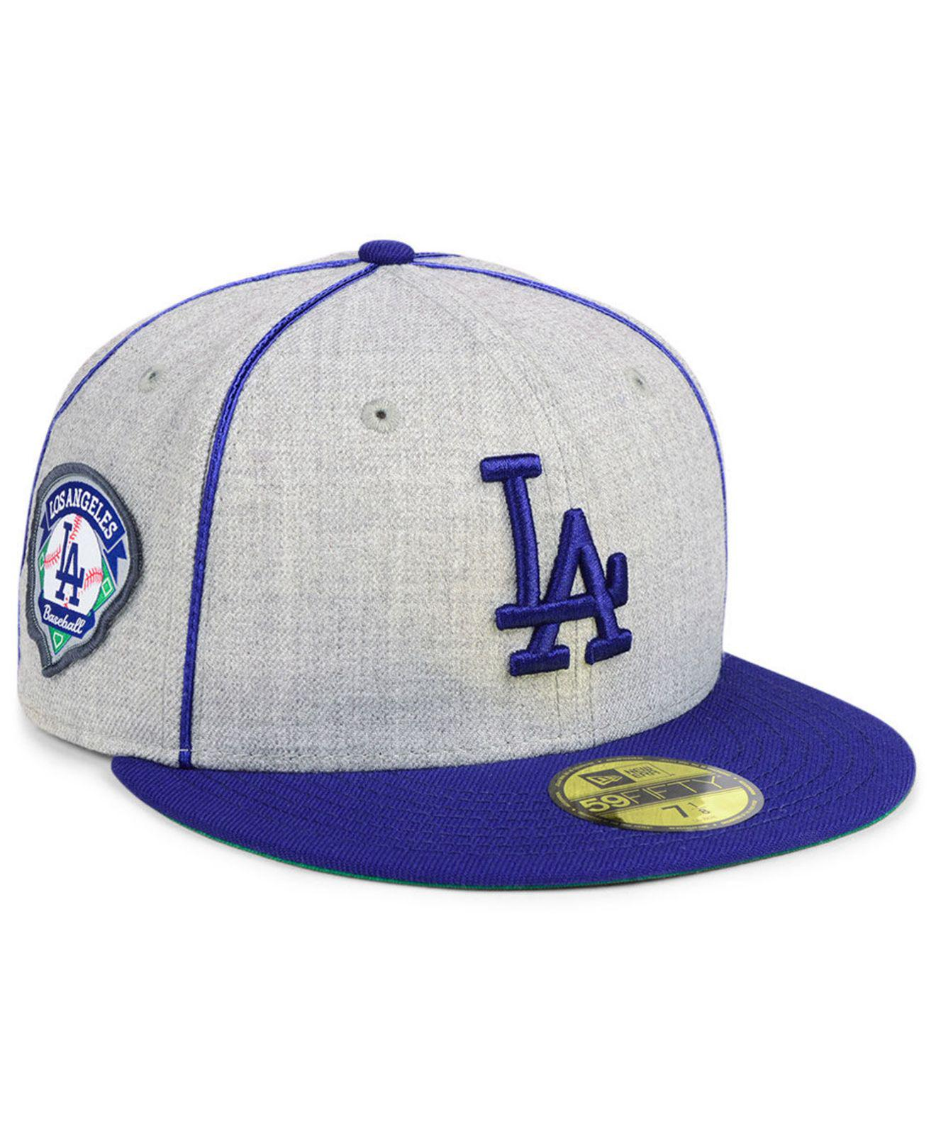 new product 1e983 d3839 Lyst - KTZ Los Angeles Dodgers Stache 59fifty Fitted Cap for Men
