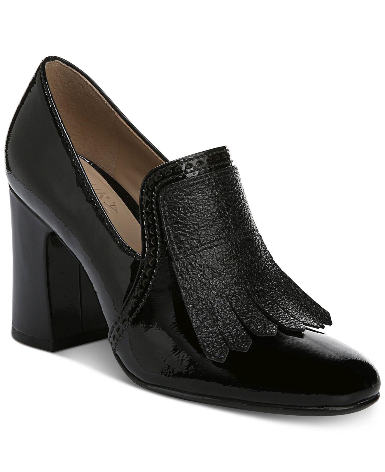 5b820eea4d4 Lyst - Naturalizer Sammy Block-heel Pumps in Black - Save 12%