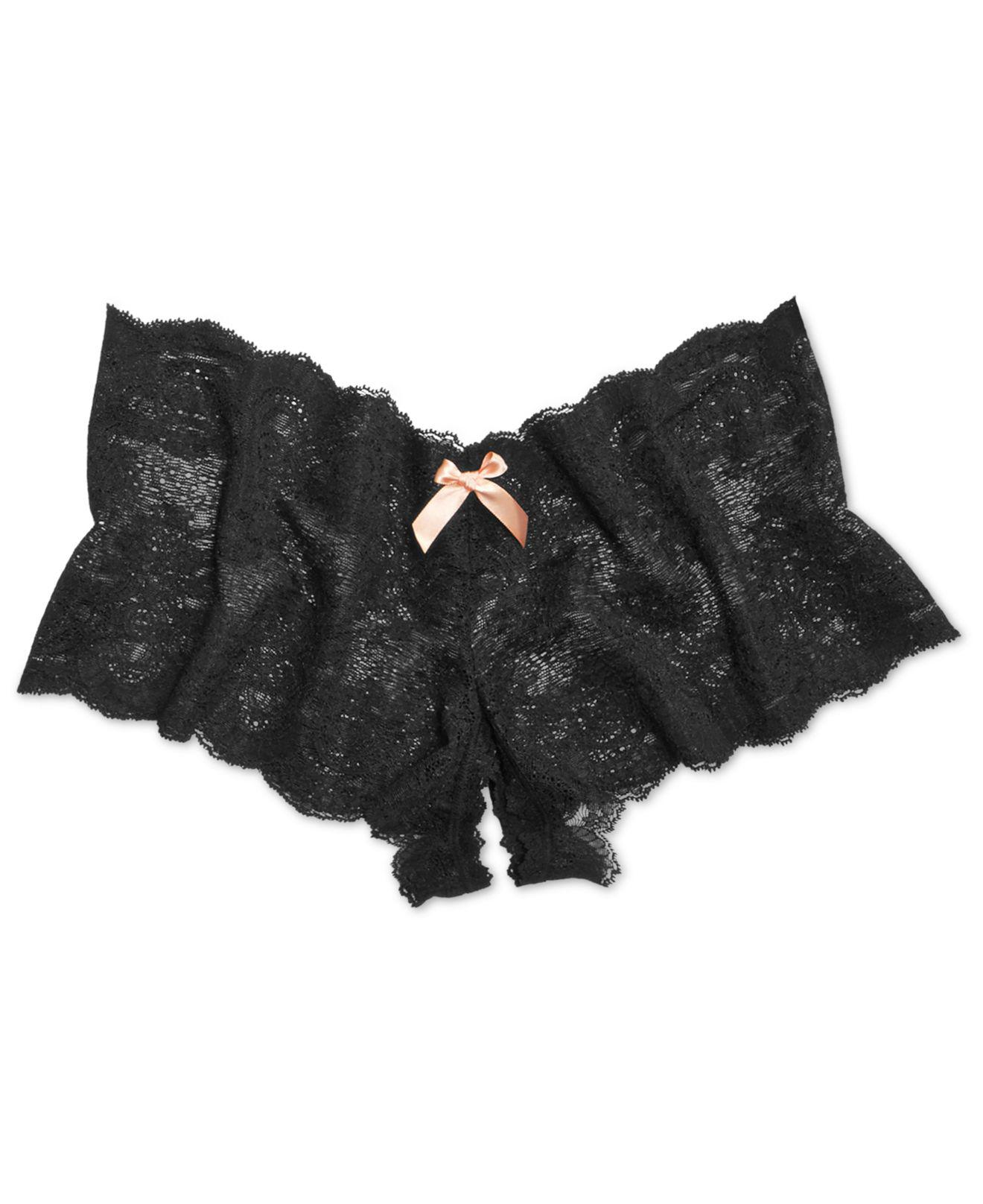 1766283e1 Hanky Panky After Midnight Peek-a-boo Crotchless Brief 972701 in ...