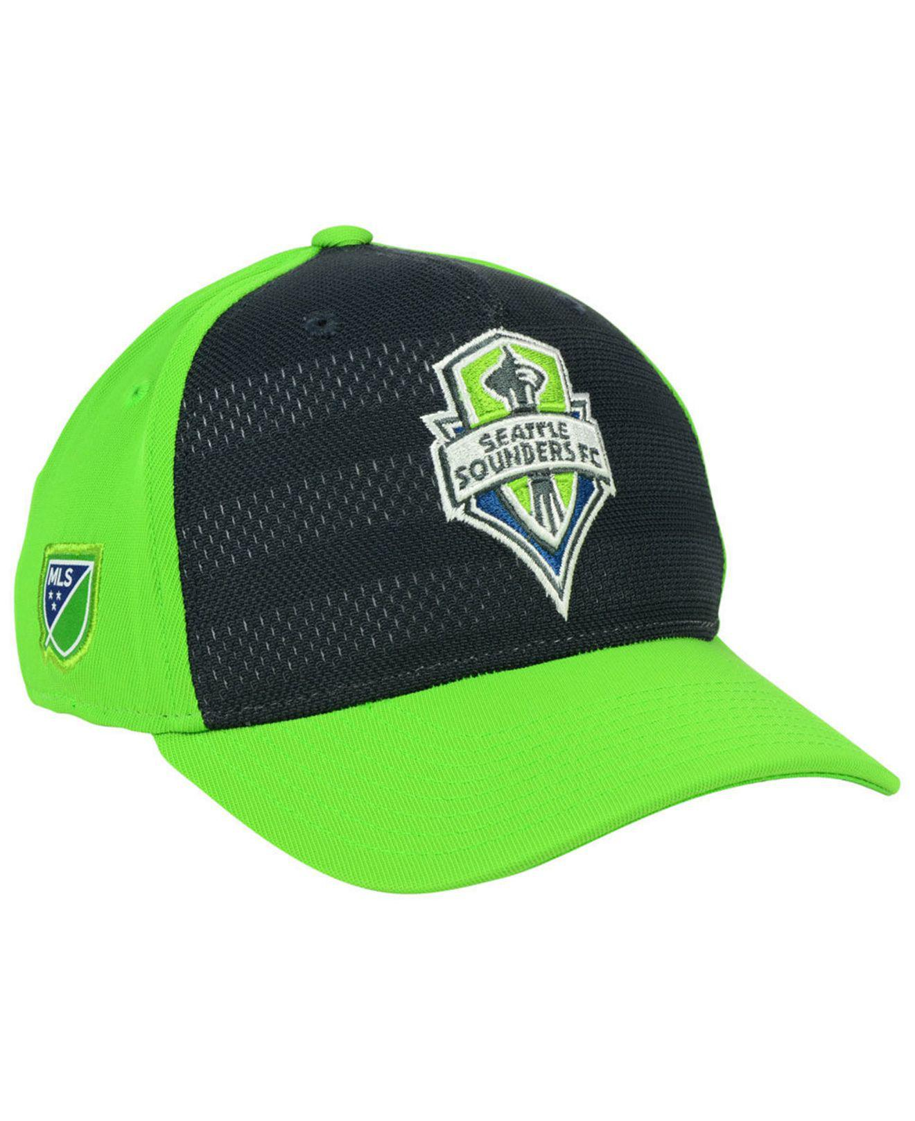2e0607f72b3 Lyst - Adidas Seattle Sounders Fc Authentic Flex Cap in Green for Men