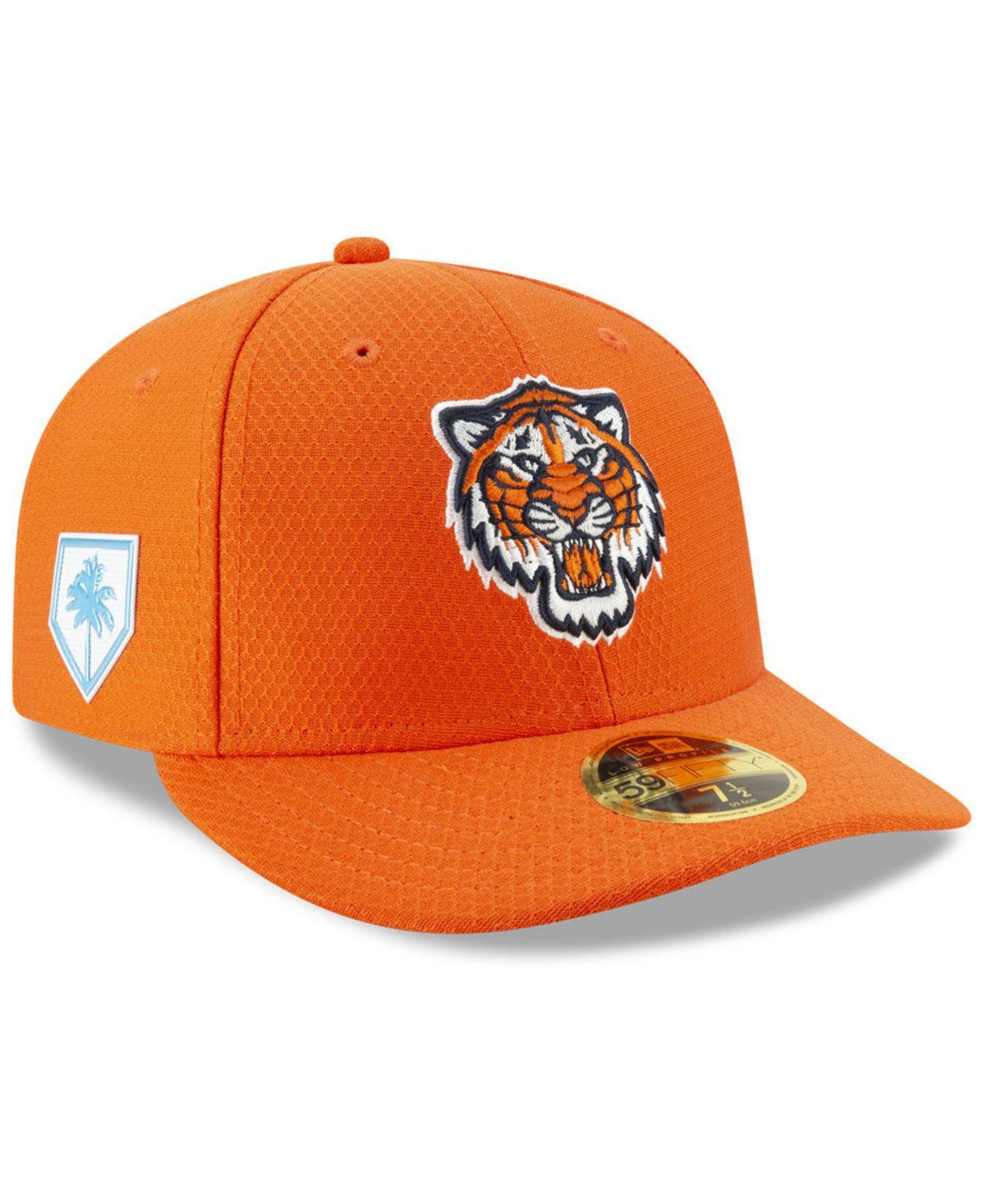 best service 0da65 68db4 Lyst - KTZ Detroit Tigers Spring Training 59fifty-fitted Low Profile ...