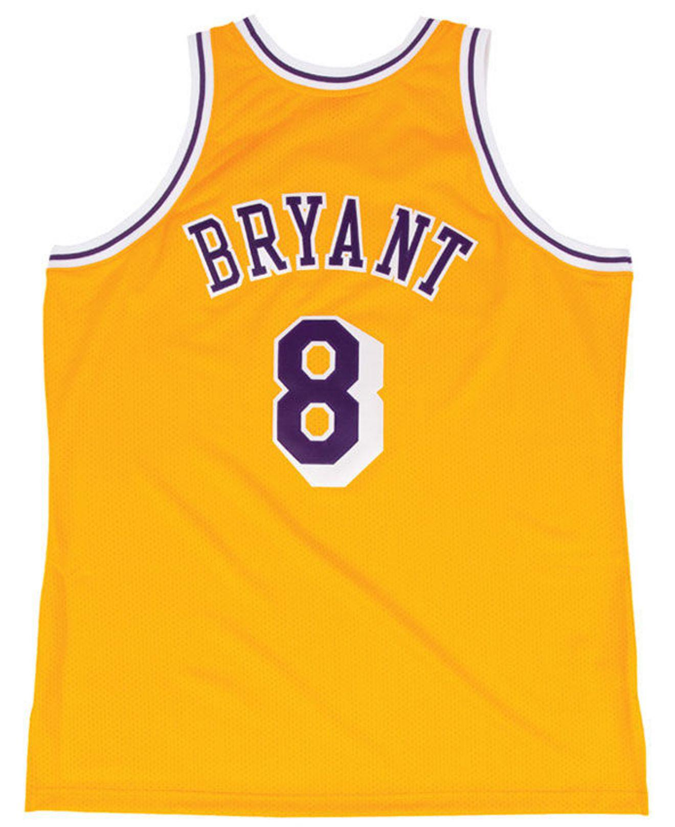 c83152e85 Mitchell   Ness Kobe Bryant Los Angeles Lakers Authentic Jersey in ...