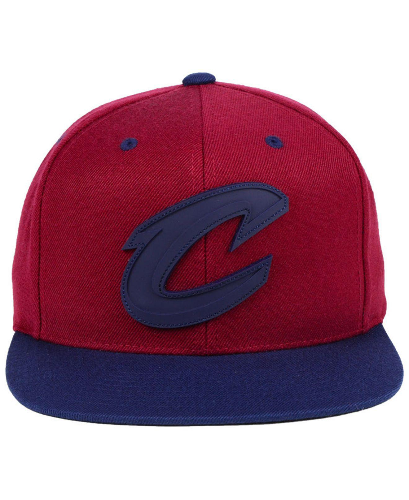 fc79e233 Lyst - Mitchell & Ness Cleveland Cavaliers Rubber Weld Snapback Cap for Men