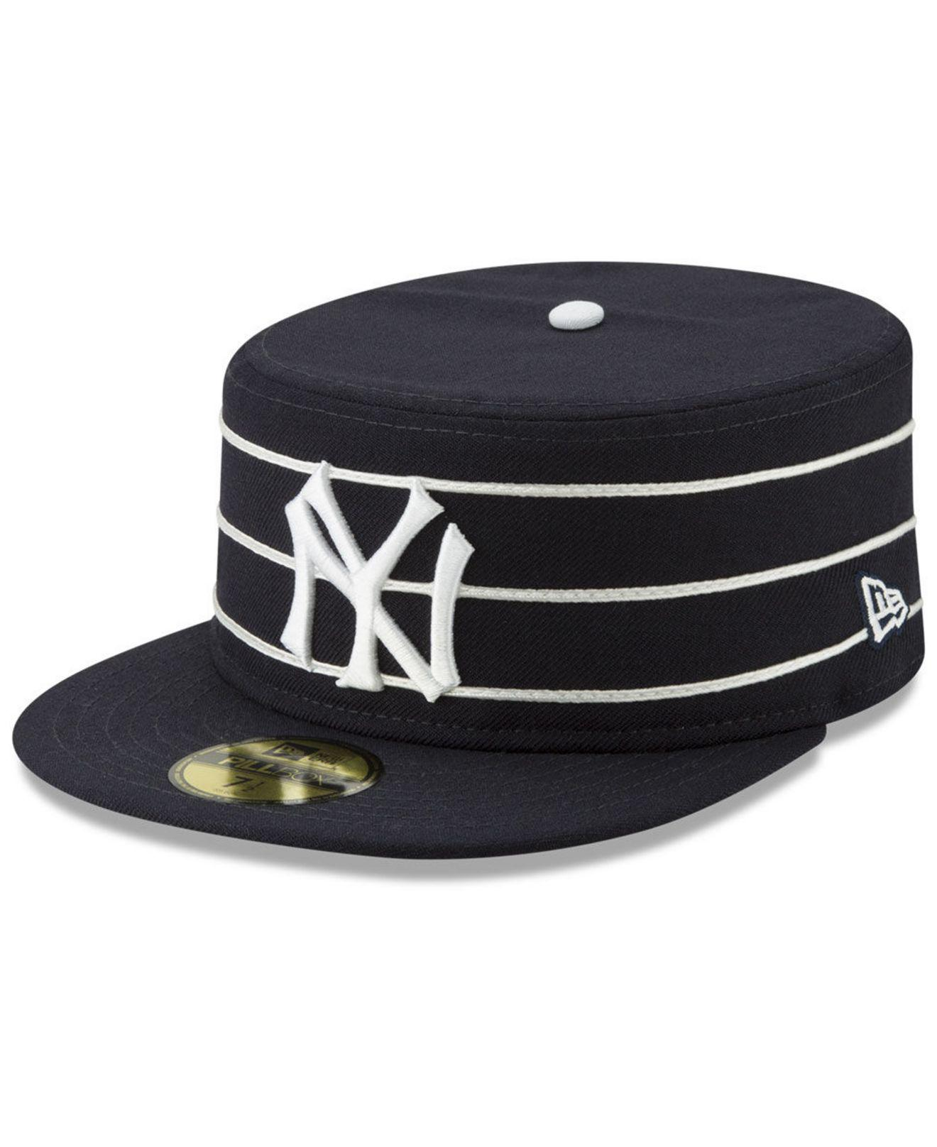49c58fc20 Lyst - Ktz New York Yankees Pillbox 59fifty-fitted Cap in Blue