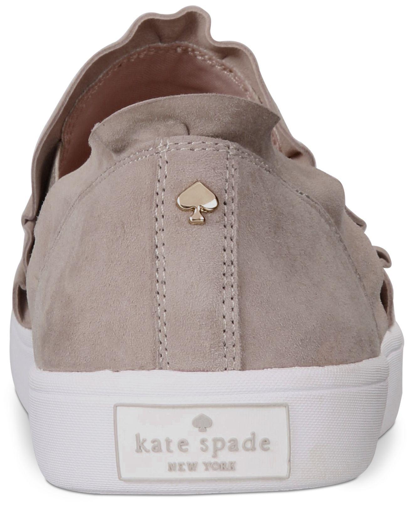 c146b9b2eb95 Kate Spade - Gray Lilly Fashion Sneakers - Lyst. View fullscreen