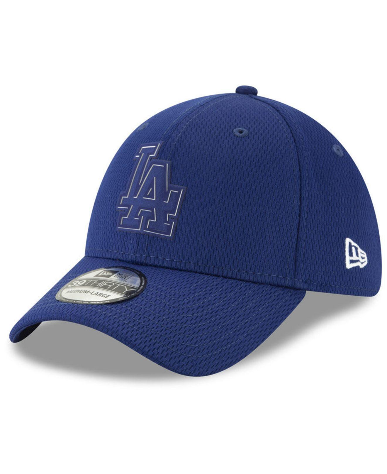 sale retailer 6611e 23905 ... Los Angeles Dodgers Clubhouse 39thirty Cap for Men - Lyst. View  fullscreen