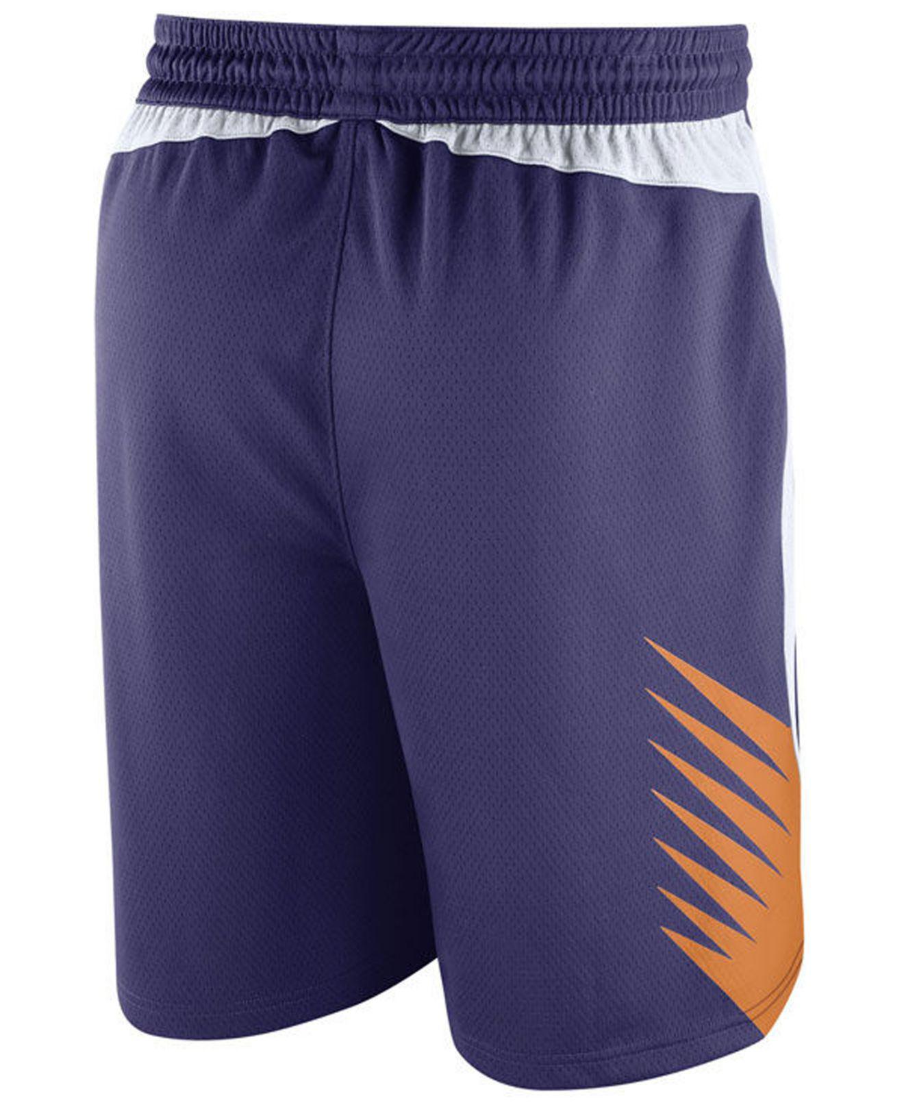eb542656a5e76d Lyst - Nike Icon Swingman Shorts in Purple for Men