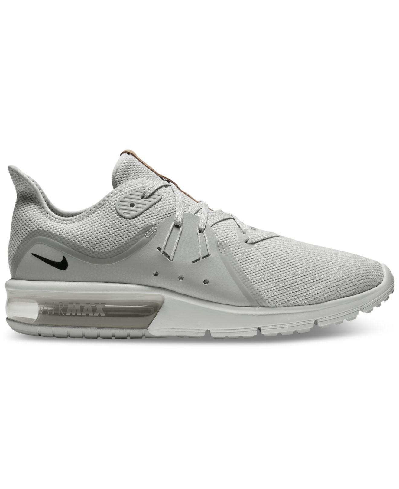release date: ca707 1436e Nike Air Max Sequent 3, Chaussures de Gymnastique Homme, Or (Pure Platinum