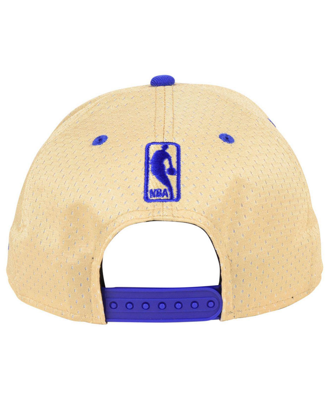 sale retailer 23086 56708 ... norway golden state warriors champagne 9fifty snapback cap for men lyst.  view fullscreen 8ffb3 9405b