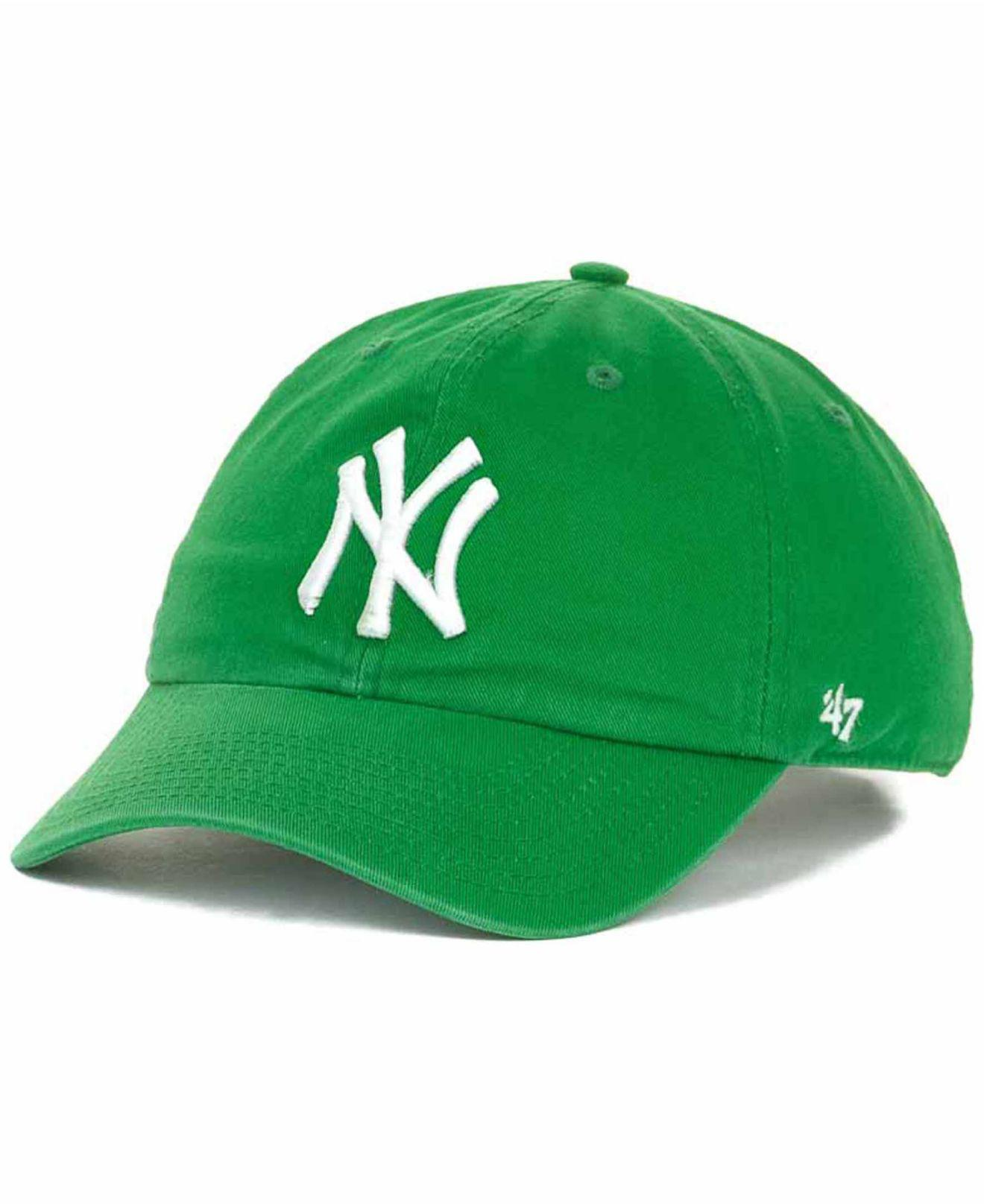 c198ea3fbd9 ... New York Yankees Clean Up Hat for Men - Lyst. View fullscreen