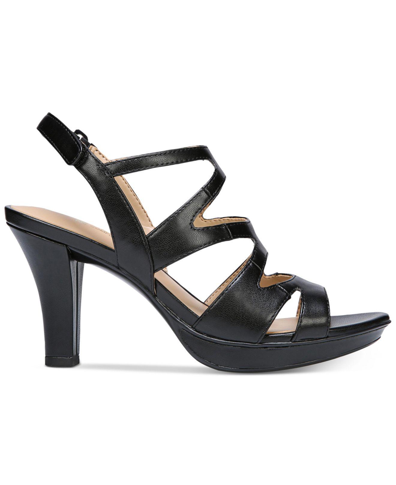 ea486d331c2 Lyst - Naturalizer Dianna Slingback Sandals in Black - Save 13%