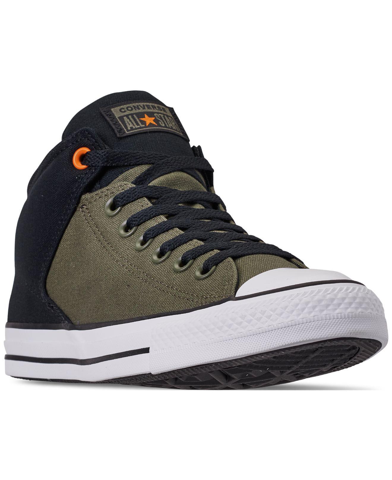 f01a4f11453f Converse. Men s Black Chuck Taylor All Star High Street Casual Sneakers ...
