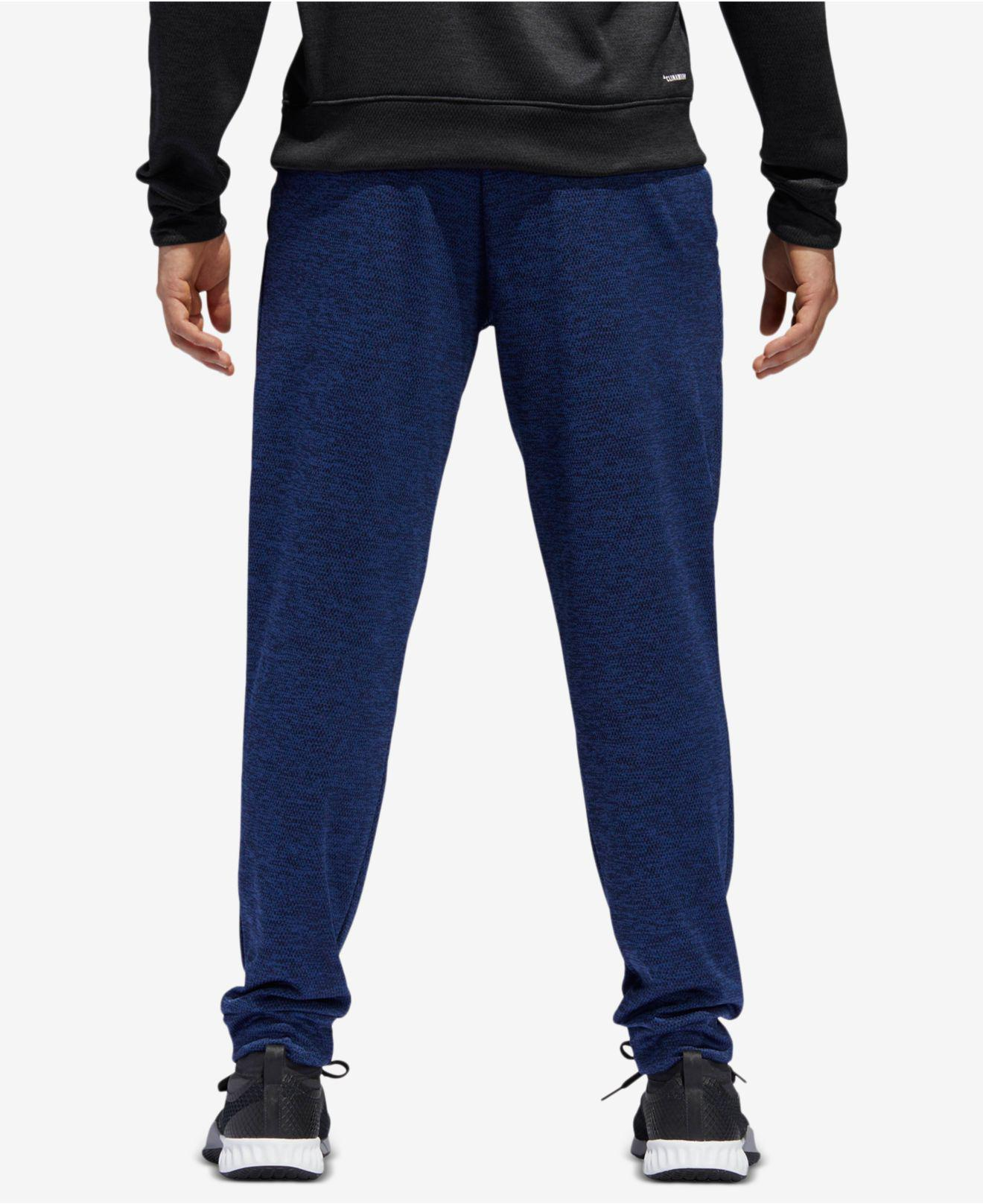 adidas navy fleece joggers