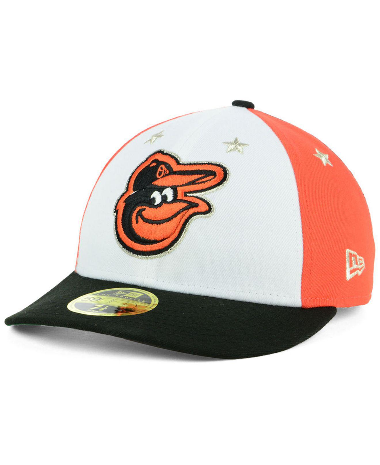 the best attitude 93c60 5b874 KTZ Baltimore Orioles All Star Game Patch Low Profile 59fifty Fitted ...