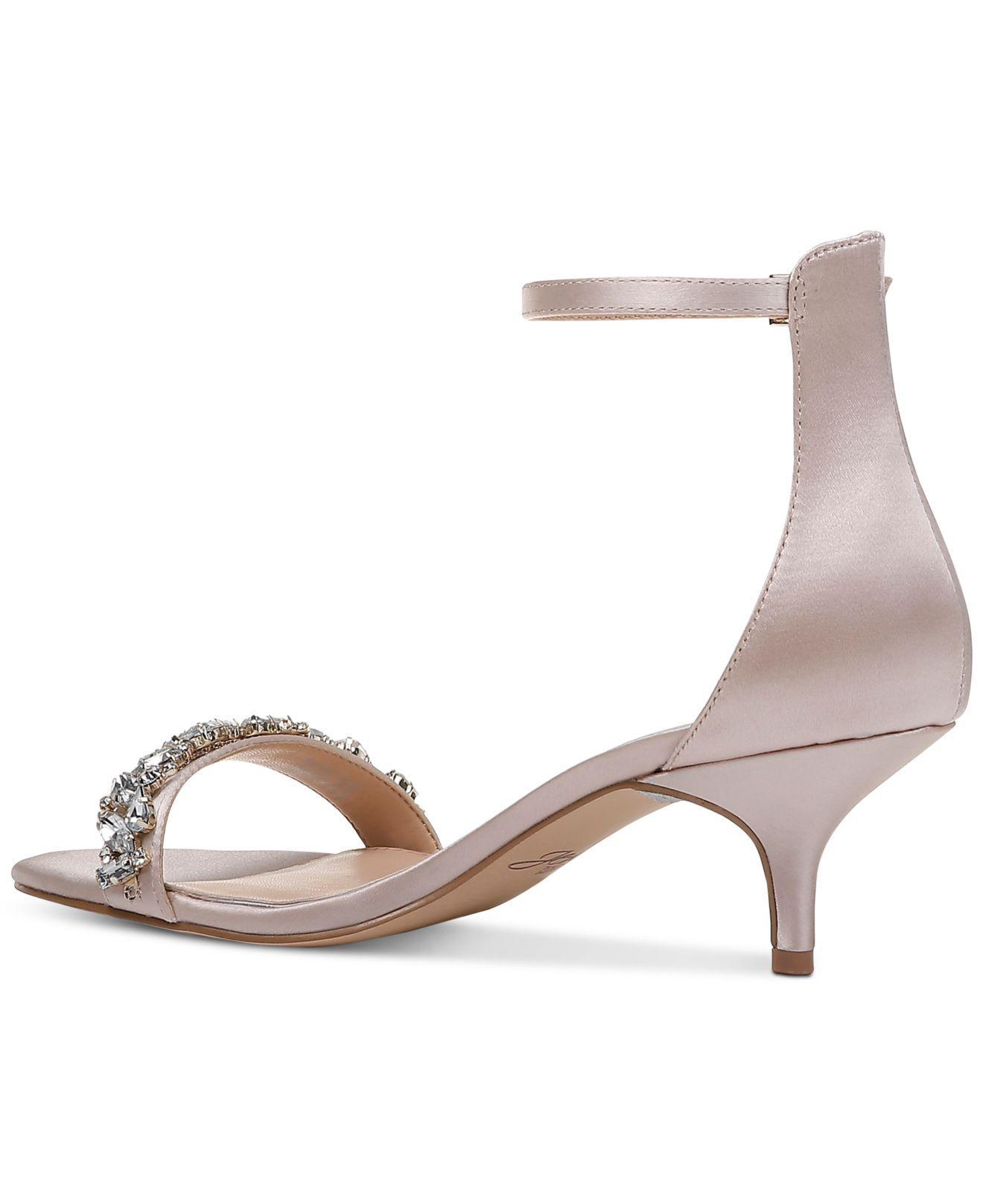5c6a7eaf6516 Badgley Mischka - Multicolor Dash Kitten-heel Evening Sandals - Lyst. View  fullscreen