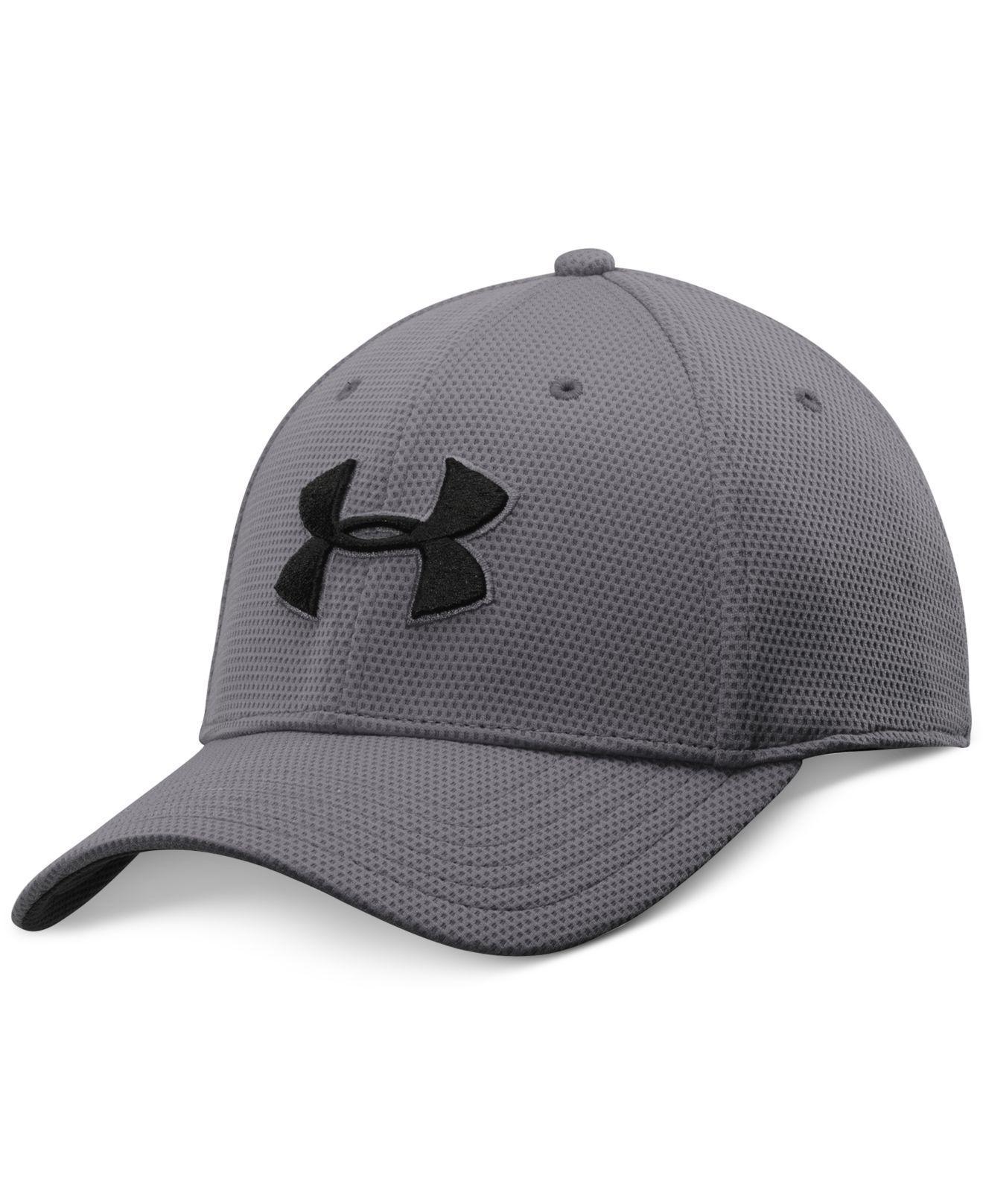 3e787eef085 Lyst - Under Armour Men s Blitzing Ii Stretch-fit Heatgear® Hat in ...