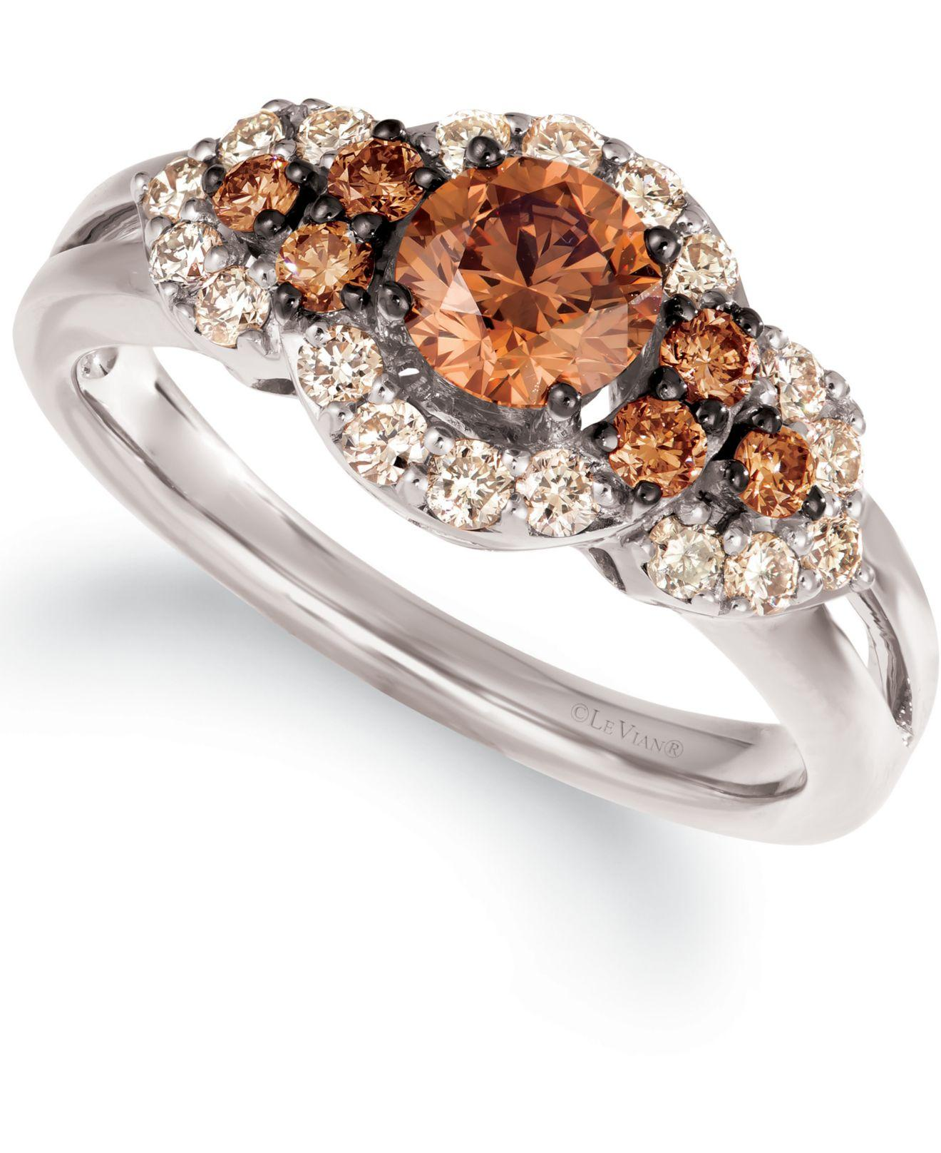 Le Vian Nude Diamond™ Band Ring (7/8 ct. t.w.) in 14k Gold